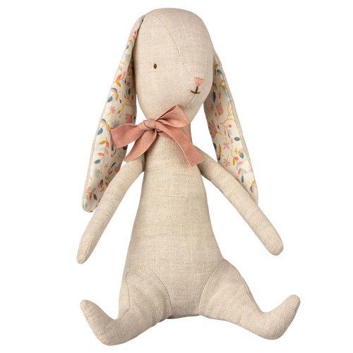 Maileg Bunny Albin mit rosa Schleife