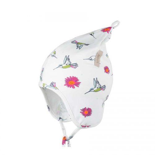 pure-pure Zipfelmütze mit UV-Schutz mit Kolibris