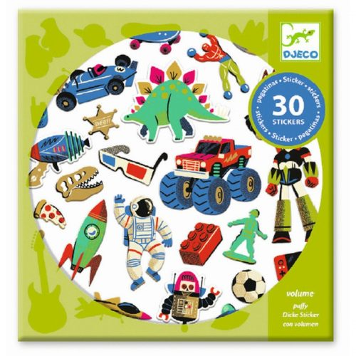 Sticker Retro Toys