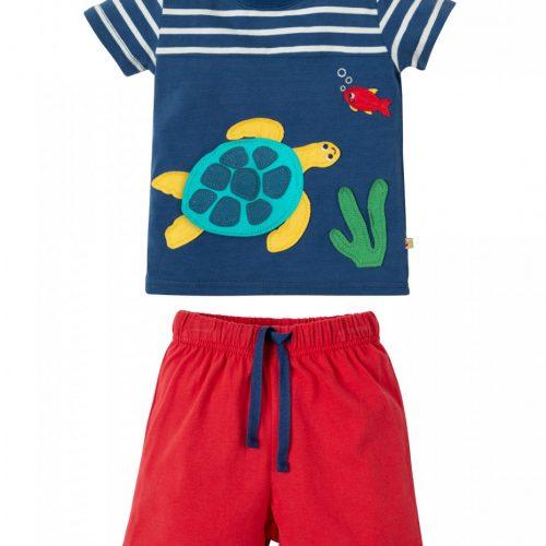 Frugi Outfit Schildkröte