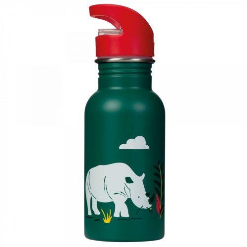 Trinkflasche Splish Splash Nashorn von Frugi aus Edelstahl