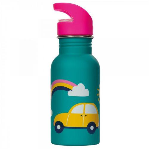 Trinkflasche Splish Splash Regenbogen von Frugi aus Edelstahl