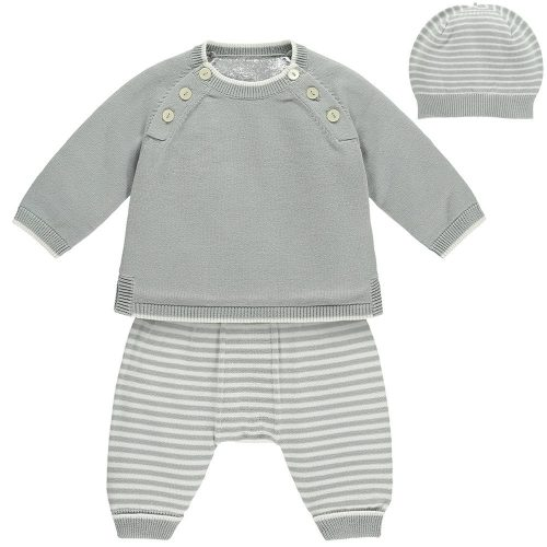Outfit Marvin in hellgrau