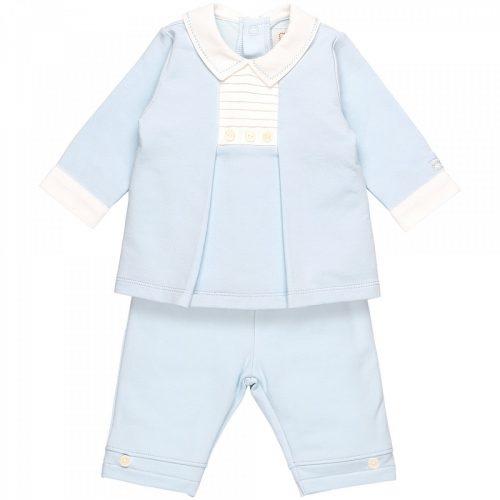 Outfit Preston in blau-weiss