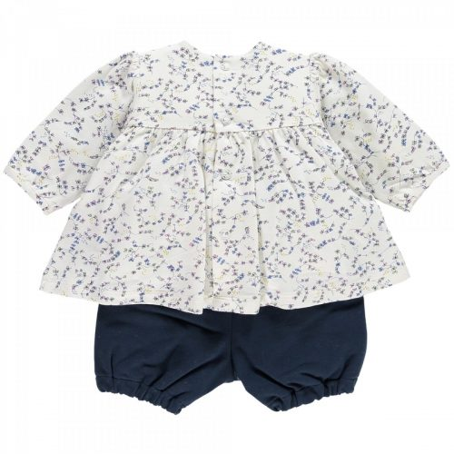 Set Nicky: Bluse, Bloomer & Strumpfhose