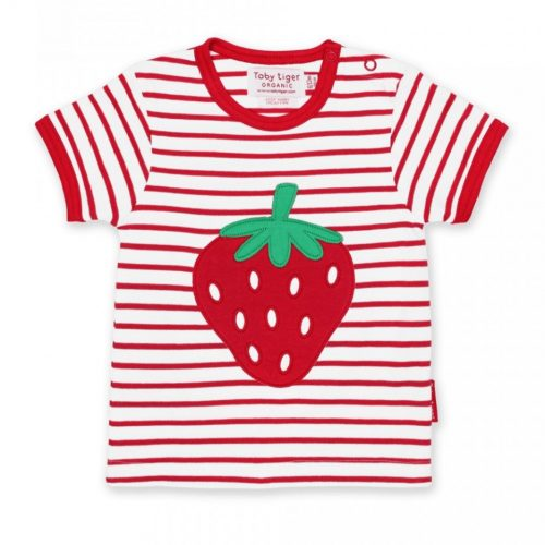 Kurzarm-Shirt Erdbeere