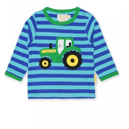 Langarm-Shirt Traktor von Toby Tiger