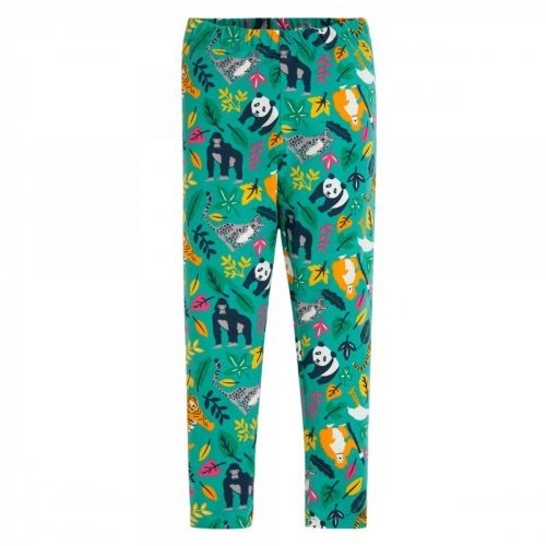 Frugi Libby Leggings Jungle aus Biobaumwolle + Elasthan