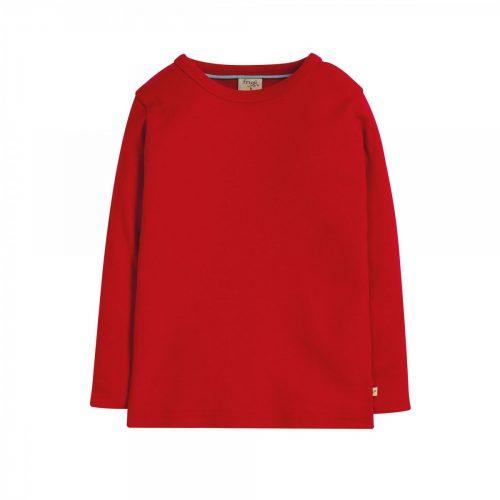 Frugi Kurzarm-Shirt uni rot