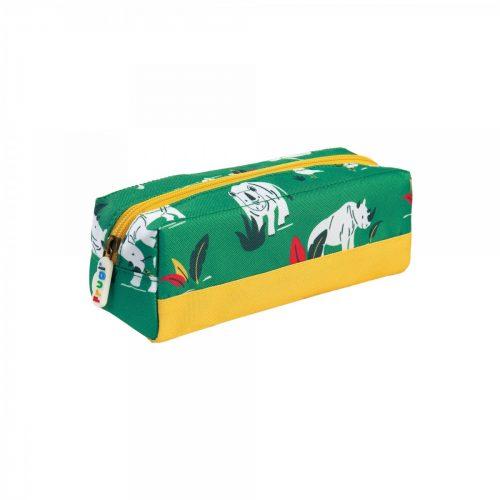 Stiftetasche Nashorn von Frugi aus receycelten Material
