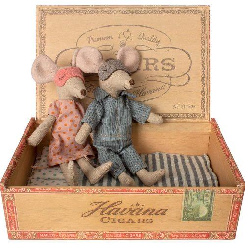 Maileg Mami & Papi in Zigarrenbox