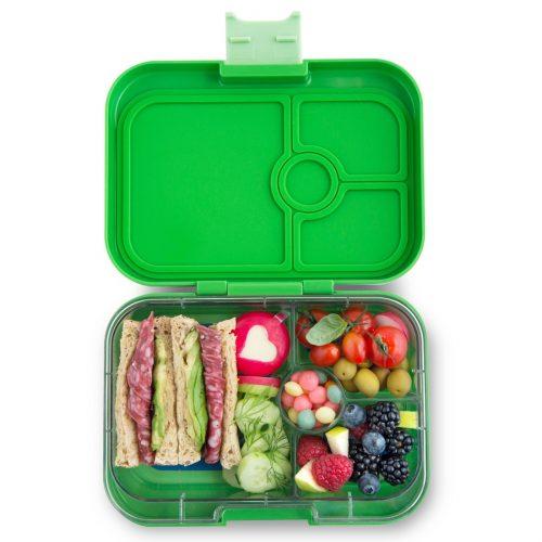 Yumbox Panino Bento Lunchbox Cilantro green 4 Fächer