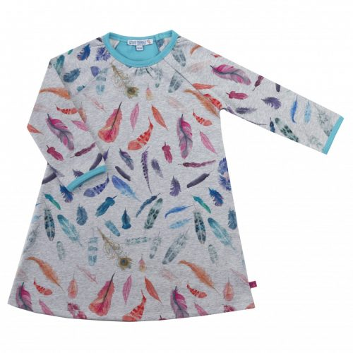 Enfant Terrible Sweatkleid Federn