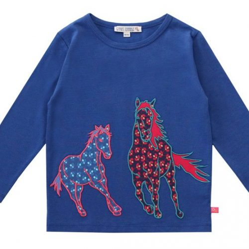 Enfant Terrible - Langarm-Shirt Pferde