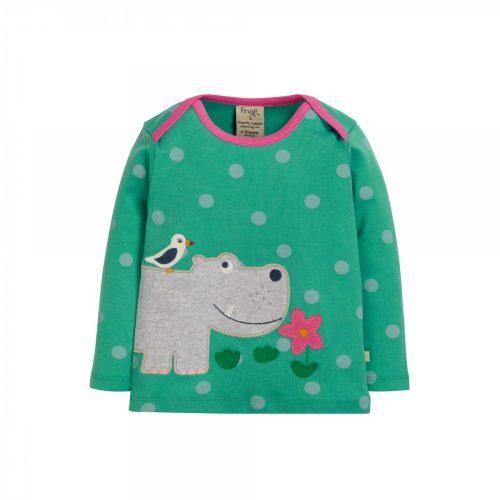 Frugi Langarm-Shirt Hippo