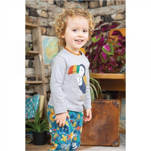Frugi Langarm-Shirt Toucan