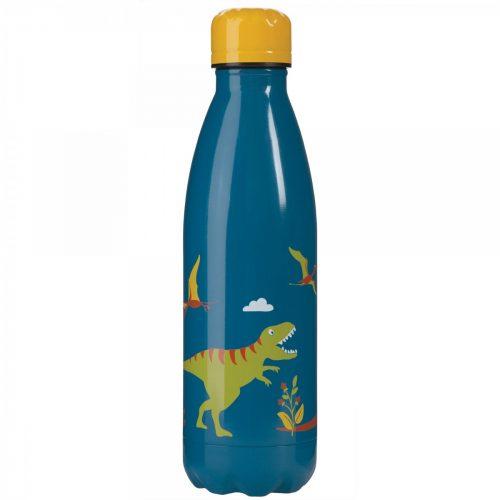 Trinkflasche Buddy Dinosaurier von Frugi aus Edelstahl