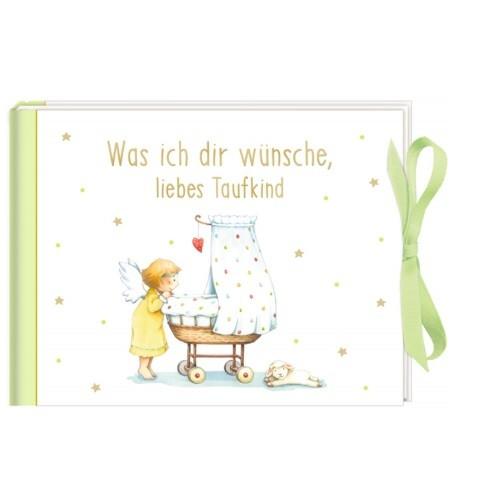 coppenrath verlag Geldkuvert-Geschenkbuch: Was ich dir wünsche, liebes Taufkind