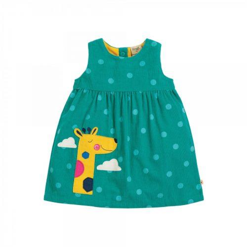 Frugi Cordkleid Lily Giraffe