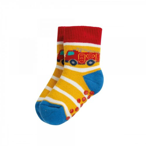 Frugi 2 Paar Stopper-Socken Transport