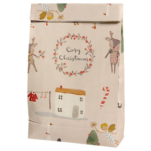 Maileg 10er Set Geschenktüten Cosy Christmas