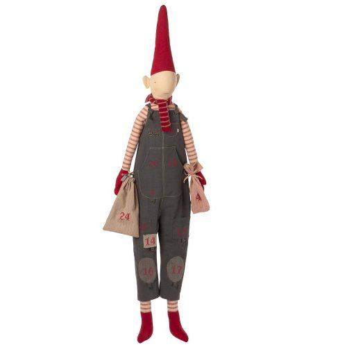 Maileg Adventskalender Wichtel Boy Pixy mit Zipfelmütze 126 cm*