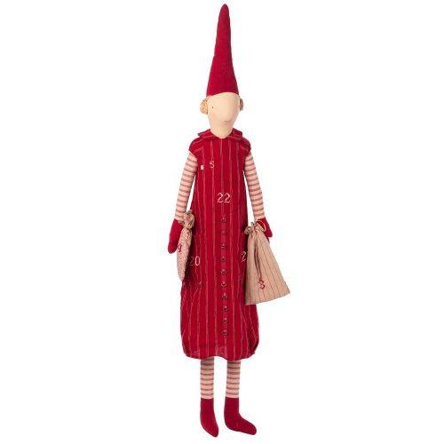 Maileg Adventskalender Wichtel Girl Pixi mit Zipfelmütze 126 cm* 14-9462-00