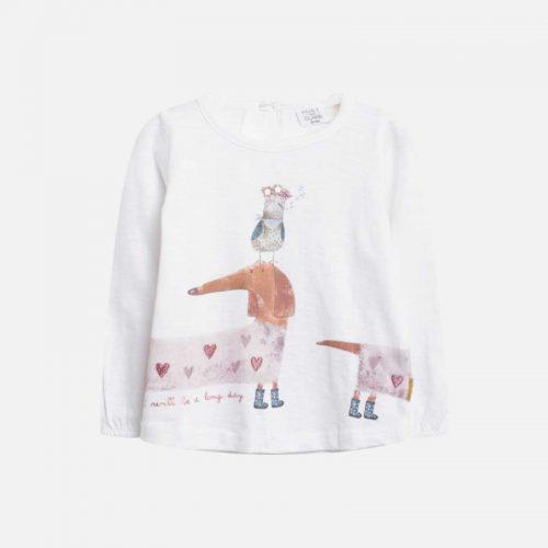Shirt Astrid von Hust & Claire in weiß