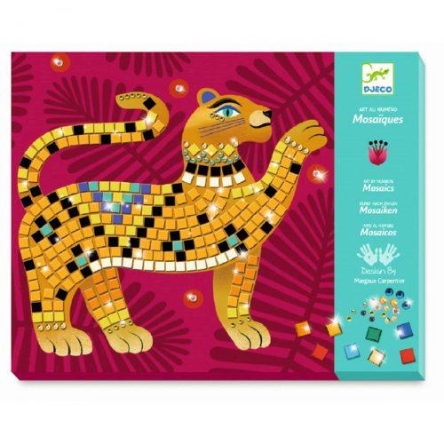 Djeco Mosaik stickern: Im Herzen des Dschungels