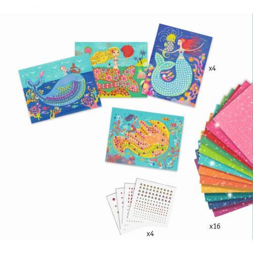 Djeco Mosaik stickern: Der Gesang der Meerjungfrauen 7 - 13 Jahre