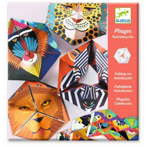 Djeco Origami Tiergesichter zum falten für Kinder ab 7 Jahren