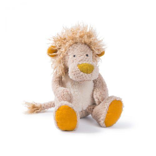 Kuscheltier Kleiner Löwe von Moulin Roty aus der Serie Les baba bou