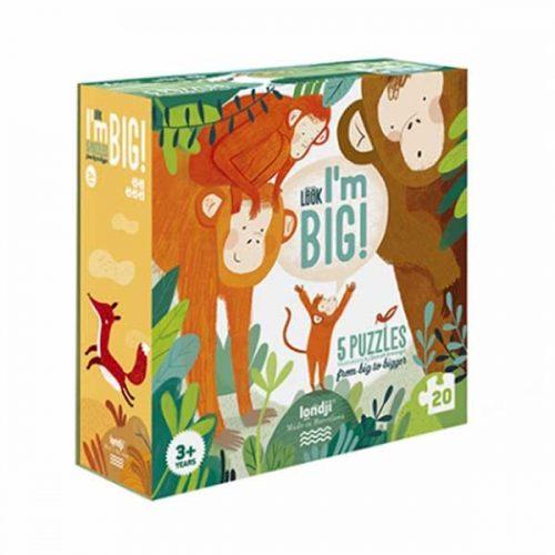 Londji Puzzle: Look! I'm big puzzle für Kinder ab 3 Jahre