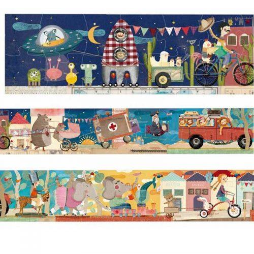 Londji Puzzle: Mein Dreiradpuzzle für Kinder ab 5 Jahre
