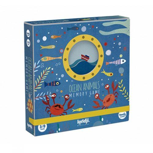 Londji Memo: Meerestiere ab 3 Jahre 32-teilig in einer sehr schönen Box