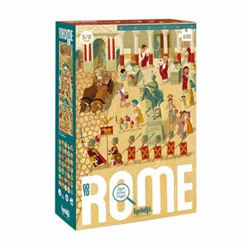 Londji Puzzle: Go to Rome - Endecke Rom für Kinder ab 5 Jahre