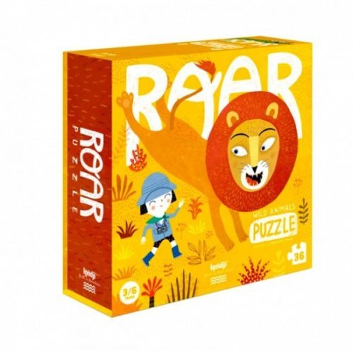 Londji Puzzle: Roar für Kinder ab 3 bis 6 Jahre geeignet