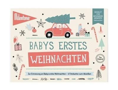 Milestone™ Babys erstes Weihnachten - deutsche Version