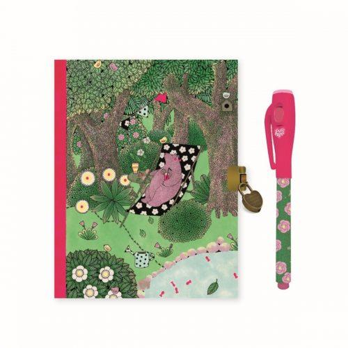 Djeco Tagebuch Fanny mit magischen Stift