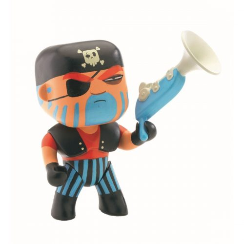 Arty Toys Pirat Jack Skull von Djeco für Abenteurer ab 3 Jahre