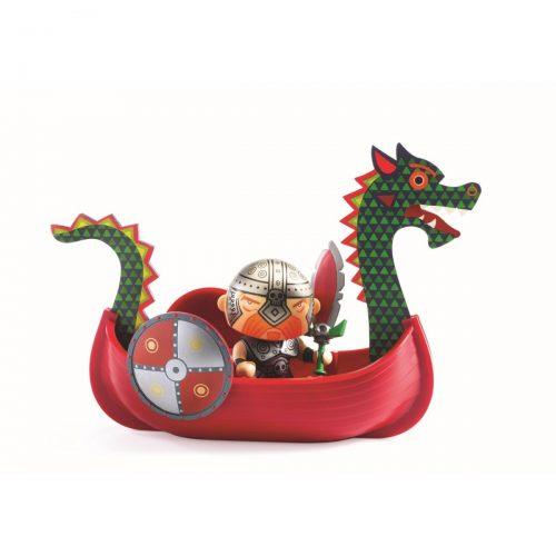 Pirat Drack inkl. Zubehör Arty Toys von Djeco