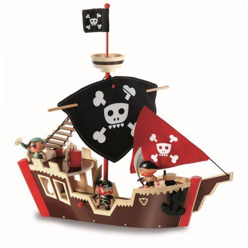 Pirat Jack Skull Arty Toys von Djeco für Abenteurer ab 3 Jahre