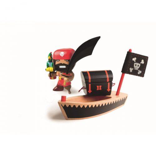 Pirat El Loco inkl. Zubehör Arty Toys von Djeco