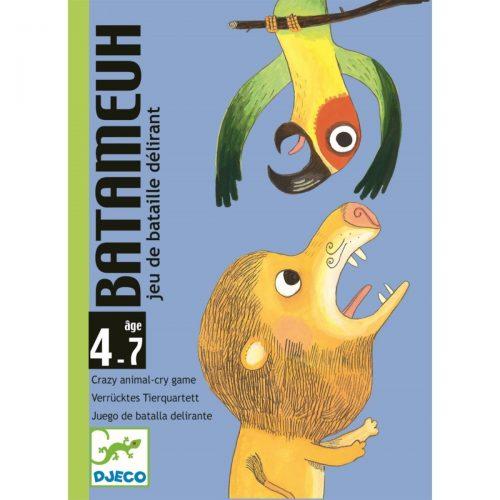 Djeco Kartenspiel Batameuh - Tierstimmen imitieren