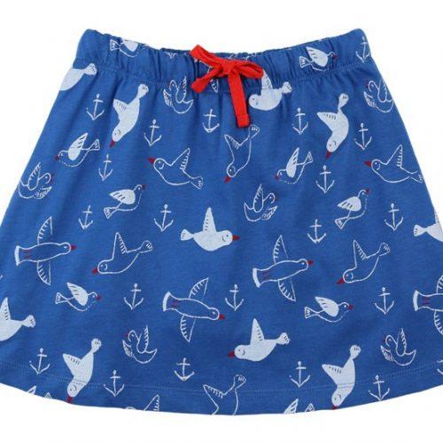 Enfant Terrible Skort (Rock mit Hose) Möwen blau-weiss