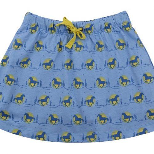 Enfant Terrible Hosenrock Pferde hellblau