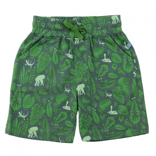 Enfant Terrible Shorts Jungle in olive - leaf green