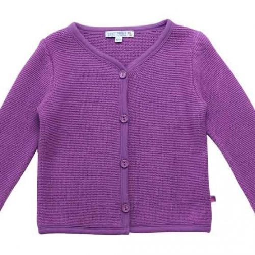 Enfant Terrible Strickjacke im Trachtenstil in lavendel
