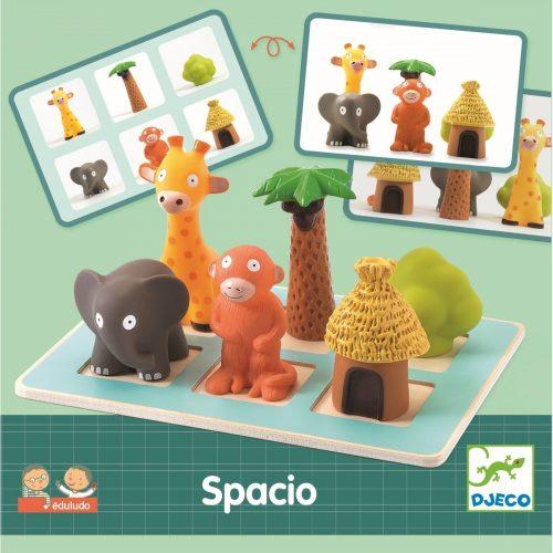 Denkspiel Eduludo Spacio von Djeco Spiel