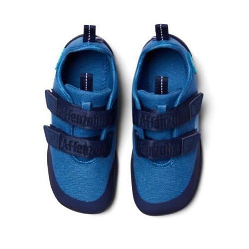 Affenzahn Kinder-Halbschuhe Bobo Bär in blau - Bequem, praktisch, atmungsaktiv